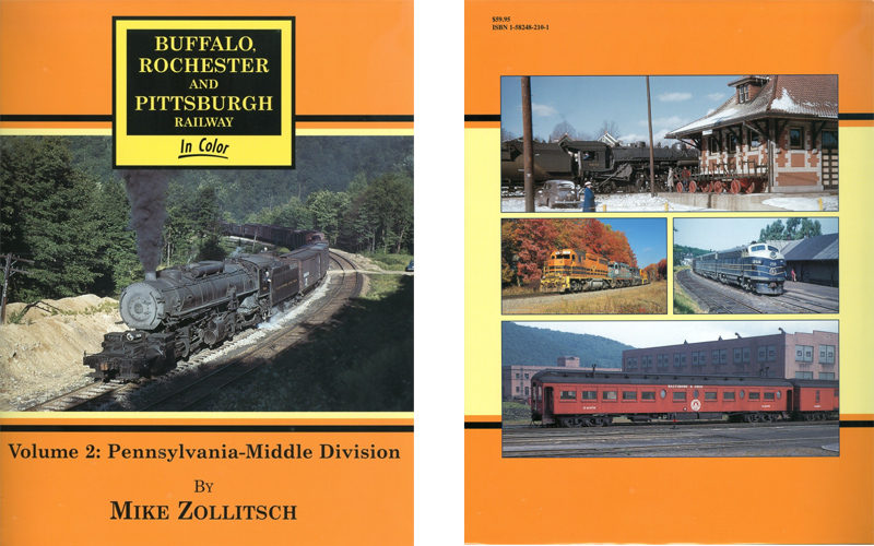 Buffalo, Rochester and Pittsburgh Railway Books For Sale by the BampO Historical Society